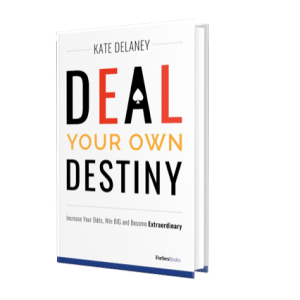 Deal Your Own Destiny - A New Book by Kate Delaney